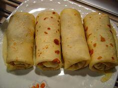 Rozpustne gotowanie: Krokiety z mięsem, kapustą i grzybami. Tacos, Mexican, Ethnic Recipes, Food, Essen, Meals, Yemek, Mexicans, Eten