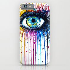 Cry Me A Rainbow Cell Phone Case