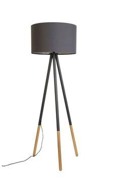 Tripod Stehleuchte Highland grau von Zuiver in Möbel & Wohnen, Beleuchtung, Lampen | eBay