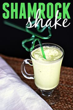 Looking for a homemade version of the classic shamrock shake? Look no further!