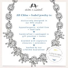 Learn why Chloe + Isabel jewelry tops everyone's wishlist!  Shop today at www.chloeandisabeldesigns.com