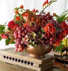 Resultado de imagem para grapes floral arrangements