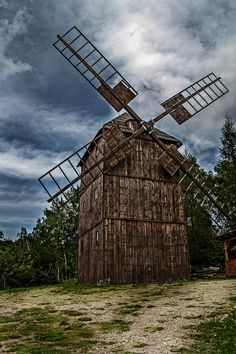 Giant or windmill... Who knows
