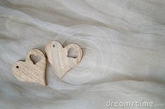 Photo about Two hearts of wood on a silk background. Image of valentine, anniversary, marriage - 137527103 Two Hearts, Anniversary, Silk, Wood, Image, Woodwind Instrument, Timber Wood, Trees, Silk Sarees