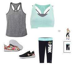"""Gym workout"" by elise2103 ❤ liked on Polyvore featuring Sweaty Betty and adidas"