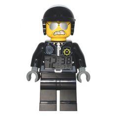 Réveil Lego Méchant Flic : Achat Cadeau Insolite sur Rapid-Cadeau.com