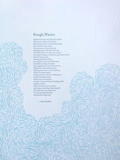 letterpress broadsides - Google Search