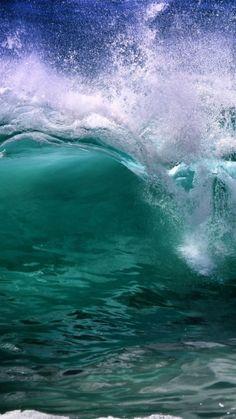 ocean - wave - blue