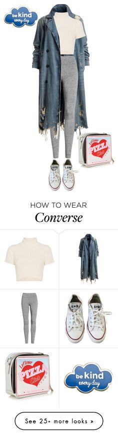 """Untitled #277"" by shinrashuya on Polyvore featuring Staud, Treasure & Bond and Converse"