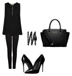"""""""Untitled #152"""" by aandreead ❤ liked on Polyvore featuring J Brand, MICHAEL Michael Kors, Dolce&Gabbana and Chanel"""