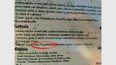 Rote Pusteblume - gefunden in Kroatien Salsa, Food Menu, Croatia, Deutsch, Funny, Salsa Music