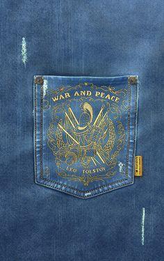 Pocket Books Saraiva on Behance Denim Wallpaper, Versace Tracksuit, Evisu, Indian Men Fashion, Pocket Books, Denim Jeans Men, Cover Pics, Colored Jeans, Denim Fashion