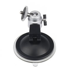 "HDE® Suction Ball Head Mount for Security Camera 1/4"" Screw by HDE. Save 73 Off!. $4.00. The security camera suction mount works with a wide variety of cameras and camcorders.  The mount can tilt, turn, and rotate, allowing you to position the device in almost any area.  The suction pad attaches to any smooth, flat, non-porous surface creating an easy installation as well as mobility when needed.  Get yours today and save!"