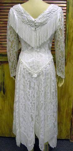 Western Wedding Dres