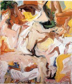 Willem de Kooning, Boudoir, ca. 1948
