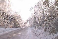 Ice Storm of '98 in Old Town, Maine.