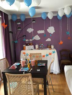 Anniversaire Dusty (Planes)  Formule Happy event  @lesbonheursdelia #anniversaire #4ans #happy4 #4 #avion #planes #dusty #disney  #maman #enfant #future maman #garcon #famille #celebrer #feter #fete #bleu #orange #bleuetorange #nuage #ballon #gateau #lesbonheursdelia #lbdl