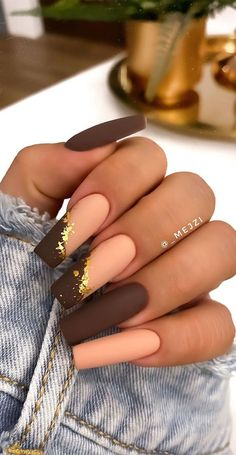 Nude Nails, Plum Nails, Matte Nails, Gel Nails, Beautiful Nail Designs, Nude Style, Autumn Nails Acrylic, Simple Acrylic Nails, Best Acrylic Nails