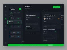 Hi everyone, This is part of the Kaoo dashboard. What is Kaoo? Kaoo is a professional project management software which allows users to organize their projects, content, and ideas into a central. Web Dashboard, Ui Web, Dashboard Design, Dashboard Examples, Graphisches Design, Web Ui Design, Graphic Design, Wireframe Design, Application Design
