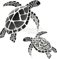 Hawaiian tattoos – Tattoos And Hawaiian Turtle Tattoos, Tribal Turtle Tattoos, Turtle Tattoo Designs, Ocean Tattoos, Stencil Logo, Stencils, Turtle Silhouette, Hawaiianisches Tattoo, Armband Tattoo