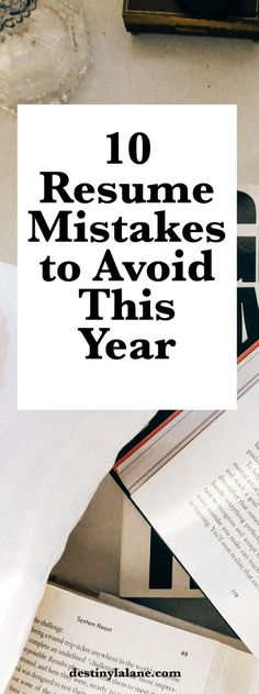 42 best CV Mistakes images on Pinterest Resume tips, Job search