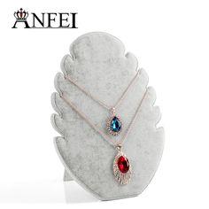Free shipping necklace display jewelry display shelf stand display rack jewelry…
