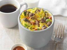 Beef and Egg Breakfast Mugs