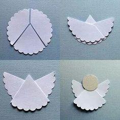 #angel, creativ, white, paper, sweet - #Engel, Kreativität, weiß, Papier, süß