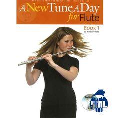 Aprenda uma nova música todos os dias na sua flauta transversal. Mátodo fácil de seguir.