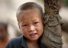 Hmong and blonde ! Laos by Eric Lafforgue, via Flickr