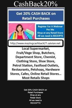 #success#shopping #Sharing #cashbackGroceries #invest #receipts #business #sales  http://wu.to/o9ws2k