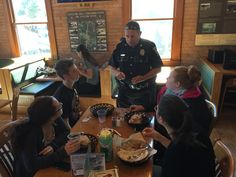 Coffee with a Cop at the UNH Dairy Bar on 09/23/14
