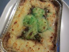 shepherd's pie for St. Patrick's Day