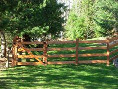 Ranch And Farm Fence Gallery | Custom Fence Gallery - Northcreek Custom Fencing, Inc. :: Fence ...