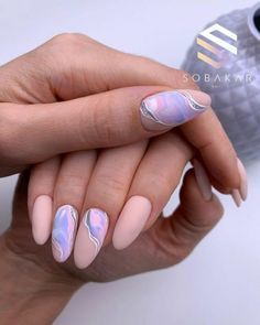 Manicure Nail Designs, Nail Manicure, Nails Design, Minimalist Nails, Nail Swag, Stylish Nails, Trendy Nails, Nails Ideias, Hair And Nails