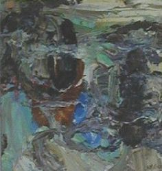 Ahti Meier, Nimetön, 30 x 30, Oil painting / The Art of Basware 2001