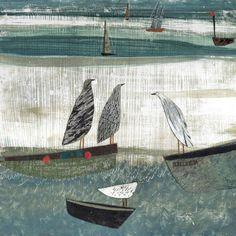 «Воображение свободно, как птица и просторно, как море»: медитативные работы английской художницы Hannah Hann - Ярмарка Мастеров - ручная работа, handmade