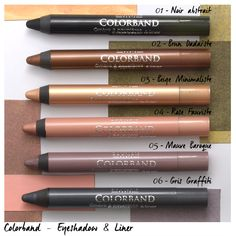 Colorband 2-in-1 Eyeshadow & Liner Crayons