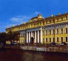 Yusupov Palace, St Petersburg, Russia   (where Rasputin's killing took place, or at least began).