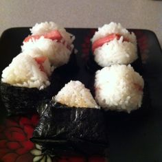 Spam onigiri