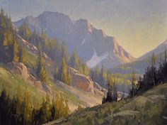 Last Glance, Paintbrush Canyon by Stacey Peterson Oil ~ 18 x 24