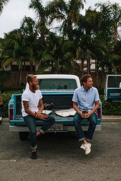 the perfect summer looks. | Shop Spotlight: North Menswear | Taylor Stitch jeans beard tumblr