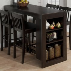 dining storage and bars
