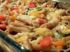 Mixed Roasted Veggies and Pasta
