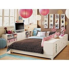 Extraordinary Teen Rooms For Girls ❤ liked on Polyvore featuring houses, home and room