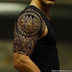 I personally don't really like polinesian tattoo, but i have to admit that this is an amazing art work!