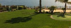 Backyard of Luxury Home in Rancho Palos Verdes