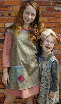 Orphan costumes for Annie production; custom made-to-order costumes, also available for rental