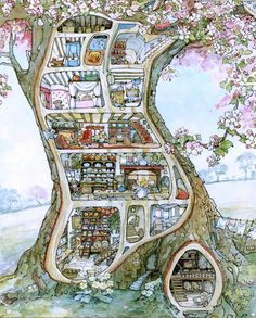 Jill Barclem, Brambly Hedge