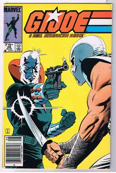 gi joe cover marvel number one | Posted on March 27, 2011 with 18 notes